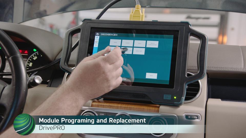 Land Rover LR4 Keyless Vehicle Module (KVM) Programming